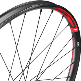 "Fulcrum Red Fire 5 MTB Wielset 27,5"" Tubeless Ready Shimano CL, black/red"